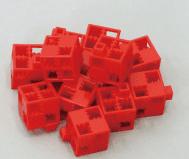 ブロック基本四角 赤