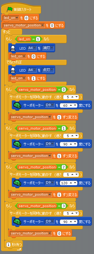 Scratchプログラム